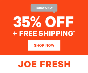 Joe Fresh Cyber Monday